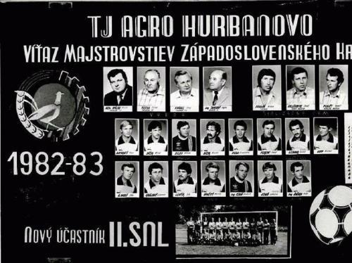 TJ Agro Hurbanovo 1982-83