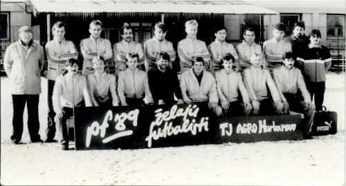 TJ Agro Hurbanovo 1989-90