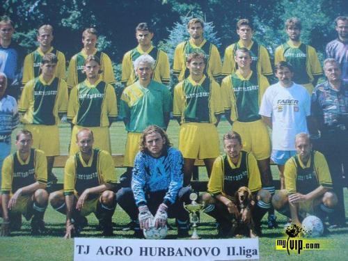 FC Zlatý Bažant Hurbanovo účastník II. SNL 1996-97