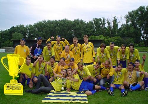 MŠK Hurbanovo, víťaz V. ligy Východ 2003/2004