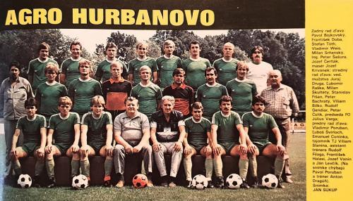 TJ Agro Hurbanovo 1984-85