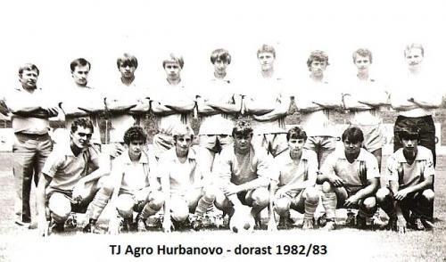TJ Agro Hurbanovo dorast 1982-83