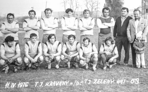 TJ Zelený Háj 1976